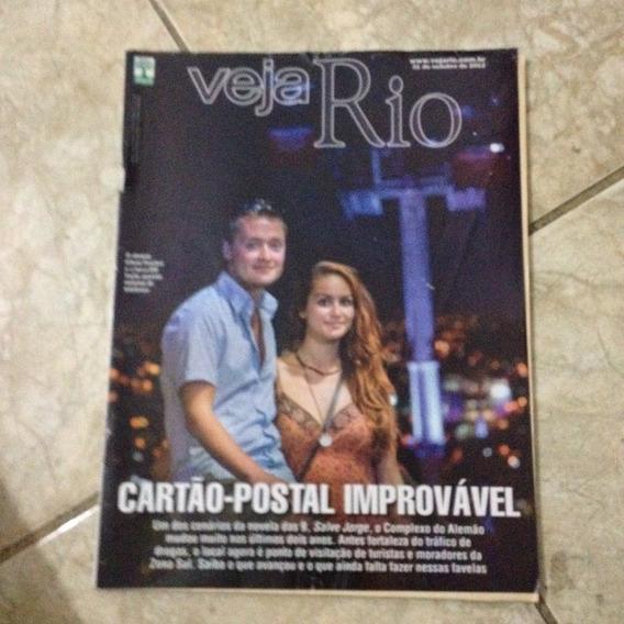 Revista Veja Rio 31/10/2012 Cartão-postal Improvável Turismo