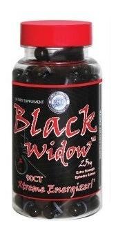 Termogénico Hi Tech Black Widow 90 Capsulas