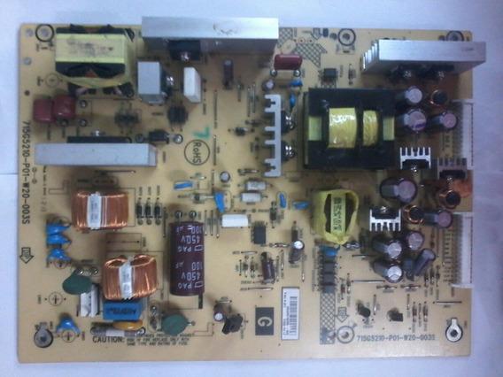 Placa A Fonte Tv Sony Mk Modelo Kdl 32bx355