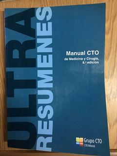 Ultraresumenes. Manual Cto De Medicina Y Cirugía 8a Ed.
