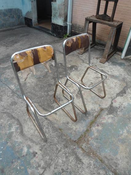Par De Cadeiras Vintage Para Reforma