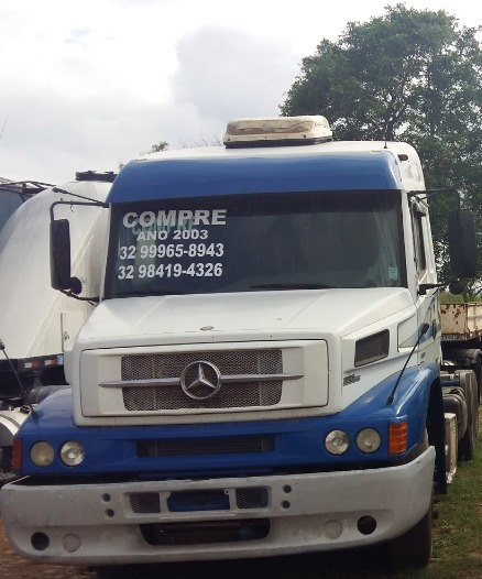 Mb 1938 Ano 2003 Truck 2015 (fazer Motor: Bateu Biela)