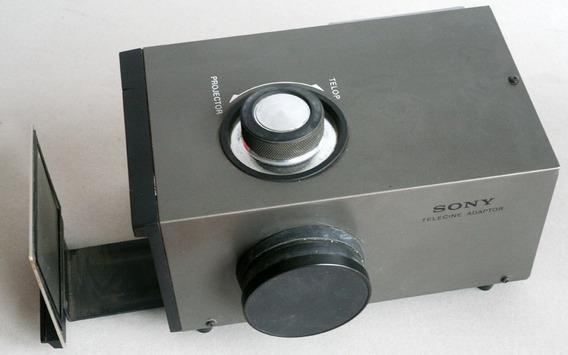 Sony Telecine Adaptador Projector Peliculas 8mm Super 8mm