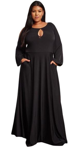 Vestido Tallas Extras Moda Curvy Plus Tallas Amplias Licra