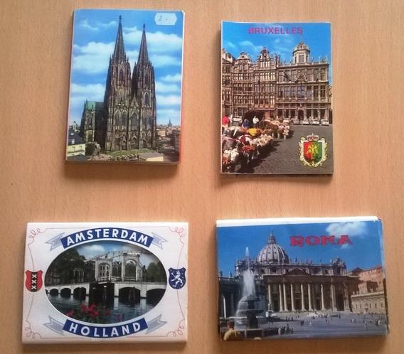 Postales Antiguas Europeas Y Varias Tipo Libro