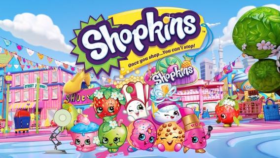 Invitación Shopkins (personalizada)