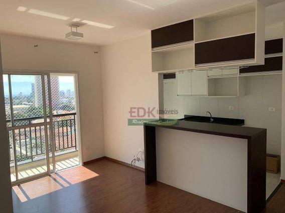 Apartamento Com 2 Dormitórios Para Alugar, 64 M² Por R$ 1.500/mês - Vila Jaboticabeira - Taubaté/sp - Ap3069