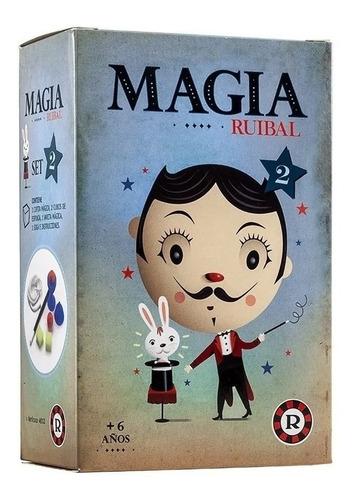 Imagen 1 de 4 de Set Infantil De Magia 2 Juego Magia Trucos Coleccion Ruibal