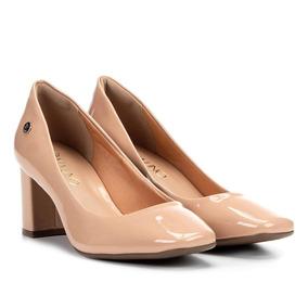 9848f8196f Sapato Feminino Salto Quadrado - Sapatos no Mercado Livre Brasil