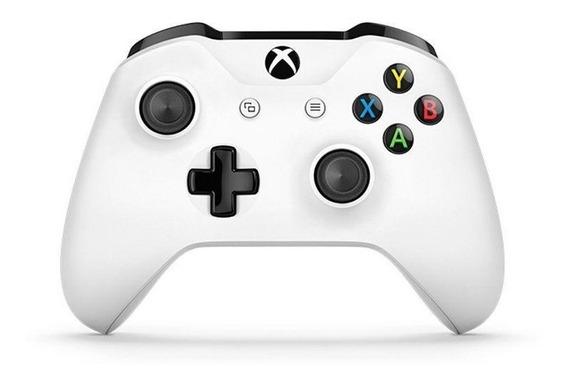 Controle Microsoft Xbox One S Branco P2 Nacional Nf Original
