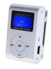 Mini Mp3 Player+fm Shuflle Clip+entrada Microsd Suporta 32gb
