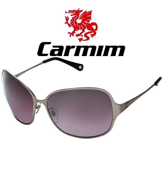Oculos De Sol Feminino Original Carmim Vintage Retro Escuro