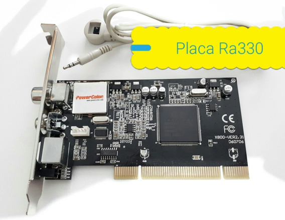 Placa Captura De Tv Powercolor Real Angel Ra330 Original