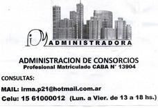 Administracion De Consorcios Y De Propiedades En Alquiler