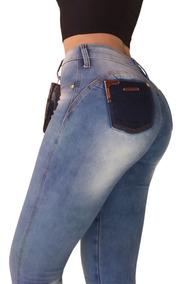 Calça Jeans Feminina Levanta O Bumbum Estilo Modelo Pitibull