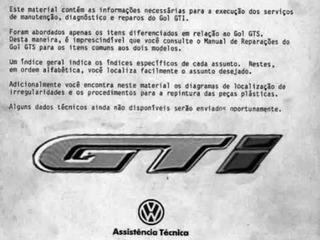 Manual Serviço Reparação Gol Gti Quadrado Arquivodigital Pdf