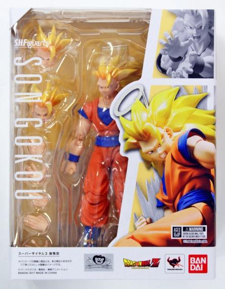 Son Goku Super Saiyan Ssj3 Bandai Sh Figuarts Dragon Ball Z