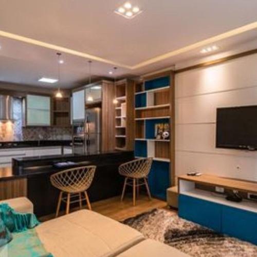 Imagem 1 de 14 de Flat Com 1 Dormitório À Venda, 57 M² Por R$ 620.000 - Alphaville Industrial - Barueri/sp - Fl0056