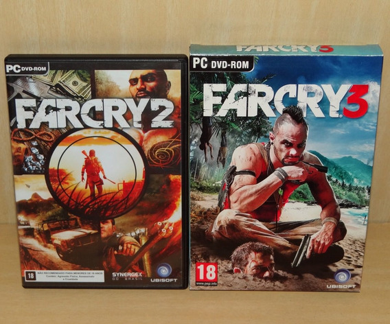 Far Cry 2 + Farcry 3 - Pc