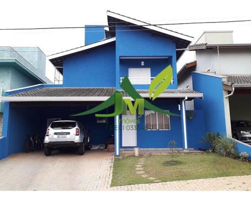 Linda Casa À Venda Em Condomínio Fechado Em Atibaia No Alto Da Floresta - 1424