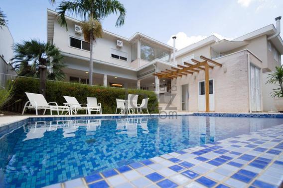 Casa Residencial À Venda, Alphaville Dom Pedro, Campinas. - Ca3353