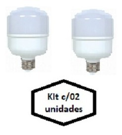 Lampada Led Alta Potencia 50w - Kit C/02 Unidades