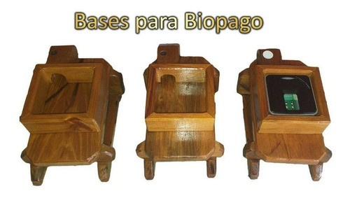 Bases Para Biopago O Lector De Huella
