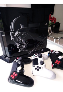 Ps4 Cuh-1215a Ed. Ltda. Star Wars + 11 Juegos Orig. + Camara