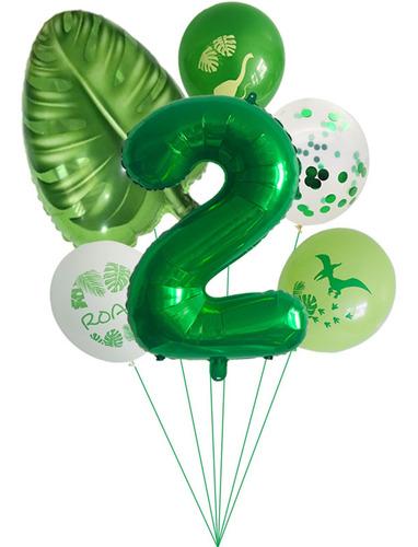 Imagen 1 de 4 de Decoraciones De Cumpleaños Para Niños Dino Decoración De Pap
