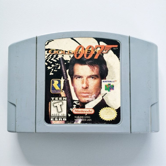 Goldeneye 007 N64 Original