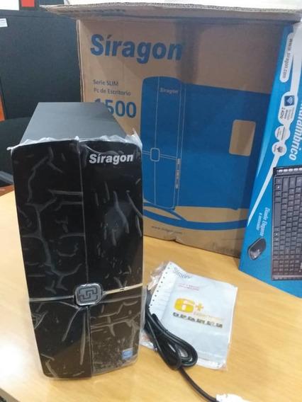 Pc Escritorio Síragon Serie Slim 1500