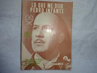 Lo Que Me Dijo Pedro Infante Libro Imb
