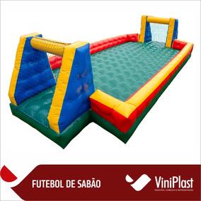 Futebol De Sabão Vinipark Max Inflável 10m X 5m Frete Gratis