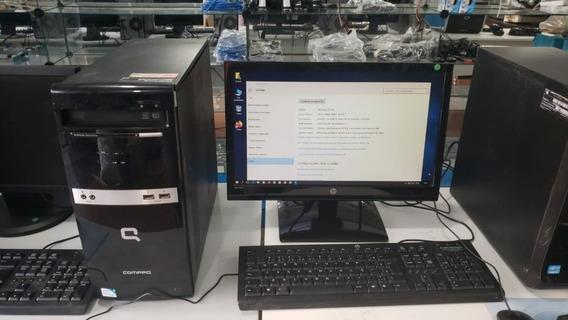Computador Barato Cpu Desktop Com Monitor Completo Usado