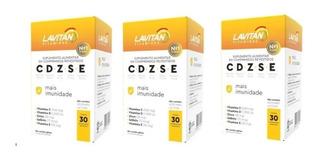 Lavitan Mais Imunidade Cdzse Kit Com 3 Unidades (90caps)