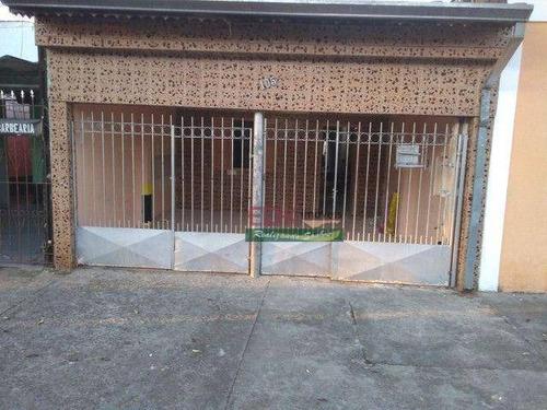 Casa Com 2 Dormitórios À Venda Por R$ 233.200,00 - Parque Novo Horizonte - São José Dos Campos/sp - Ca6282