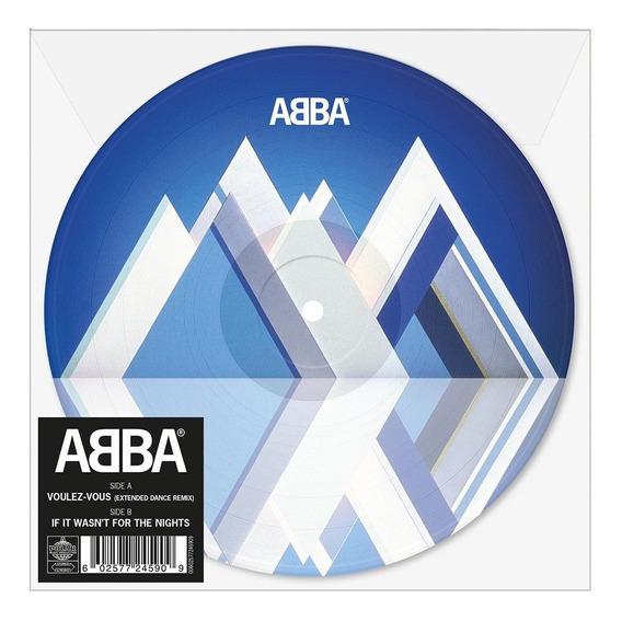 Abba Voulez-vous Remix Vinilo Single 7 Picture Nuevo Stock