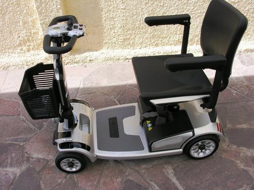 Imagen 1 de 13 de Scooter 200 W Electrica 4 Ruedas Macizas Dcr77