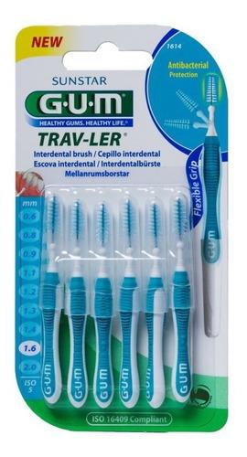 Cepillo Gum Traveler 1,6mm