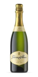 Champagne Espumante Federico De Alvear Demi Sec 750cc Ml