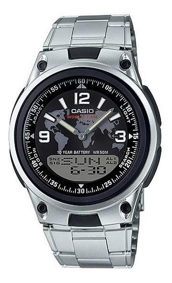 Relogio Casio Aw-80d-1 Anadigi Crono Data Alarm Wr50m Retrô