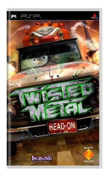Twisted Metal Headon Psp Mídia Física Pronta Entrega