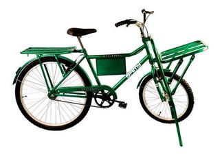 Bicicleta Cargueira Carga Pesada Food Vde Pronta Entrega