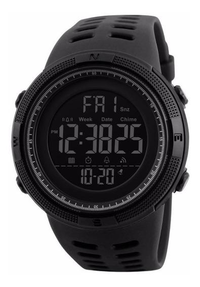 Relógio Masculino Original Preto Digital Frete Grátis Skmei