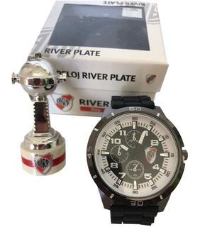 Reloj Supertop Y Llavero Copa Libertadores River Plate