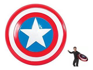Escudo Capitán América Grande 45cm No Luz- Local Caba
