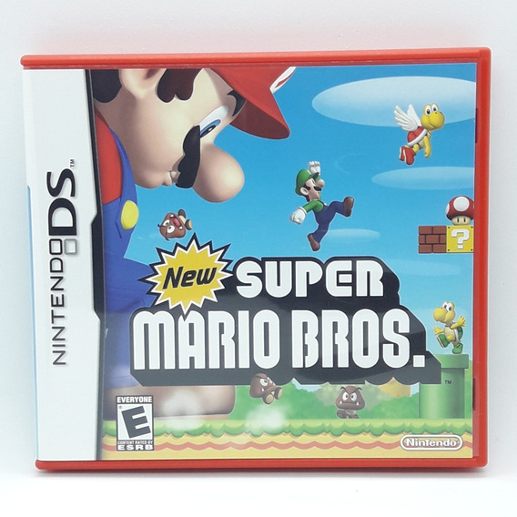 New Super Mario Bros Nintendo Ds Nds Midia Fisica 3ds 2ds