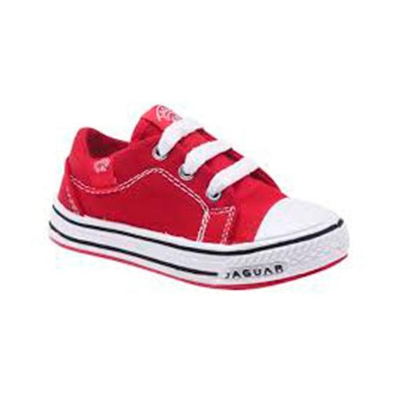 Zapatilla Jaguar Kids 128 Rojo T 27 28 29 30 31 32 33 Niños