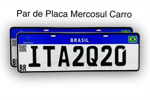 Imagem 1 de 6 de Placas Mercosul