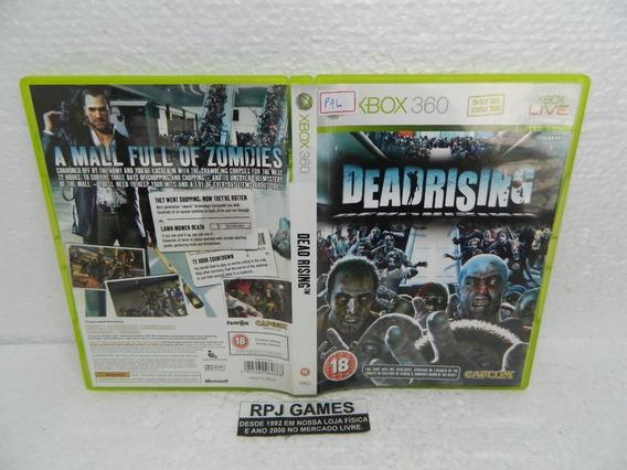 Dead Rising Original Europa Pal Midia Fisica P/ Xbox 360